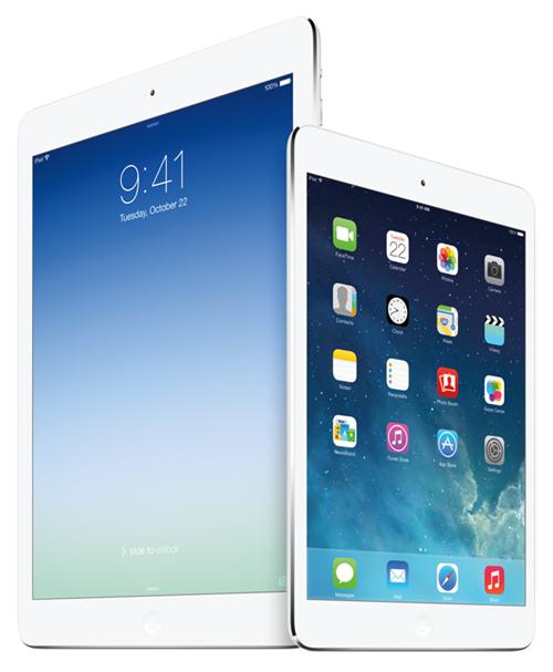 iPad Air iPad mini 2