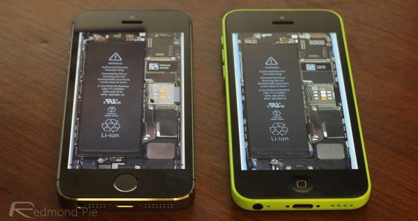 iPhone 5s 5c internals wallpaper