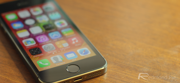 iPhone 5s front