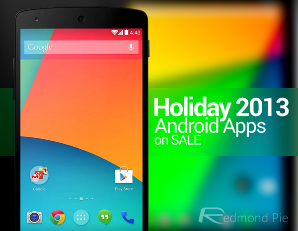 Android Apps sale 2013