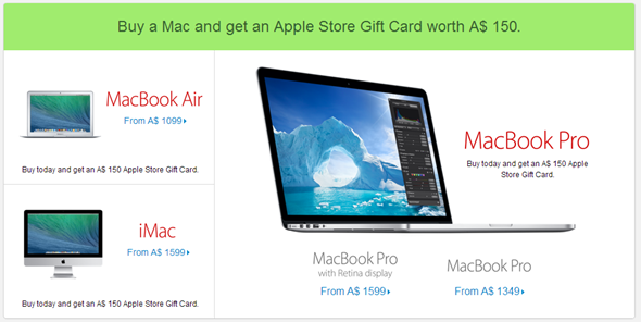 Apple Mac discount