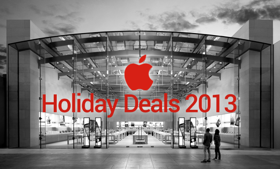 Apple holiday deals 2013