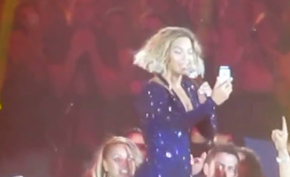 Beyonce FaceTime
