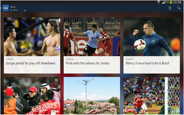 FIFA Android app