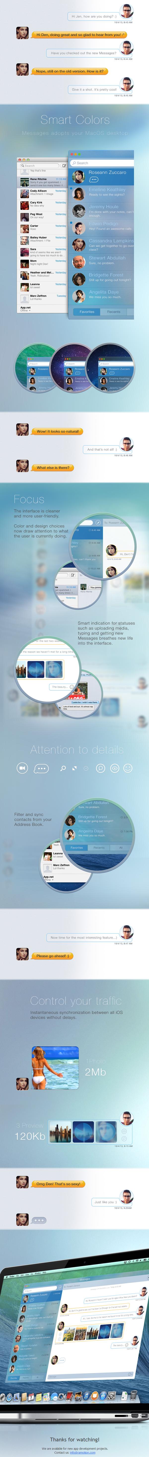 Messages app concept 1