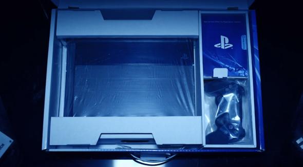 PS4 box