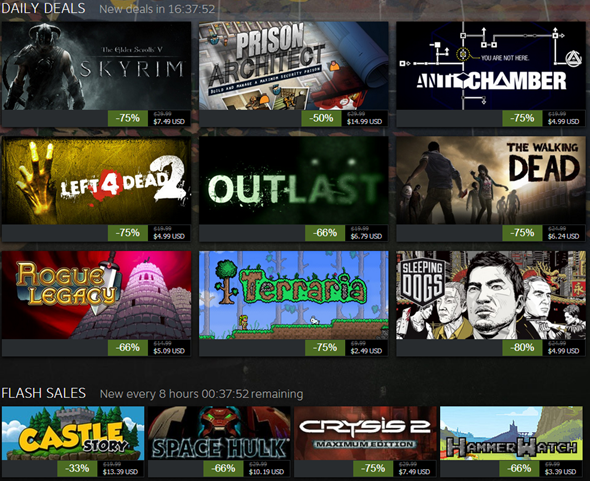 Steam 2013 Black Friday Sale