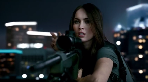 call of duty megan fox