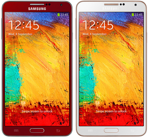 galaxy note 3 rose gold