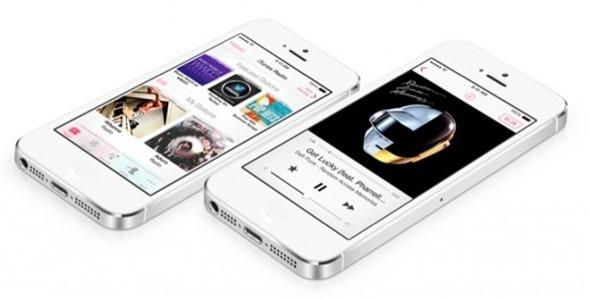 iOS 7 music