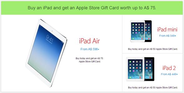 iPad discount
