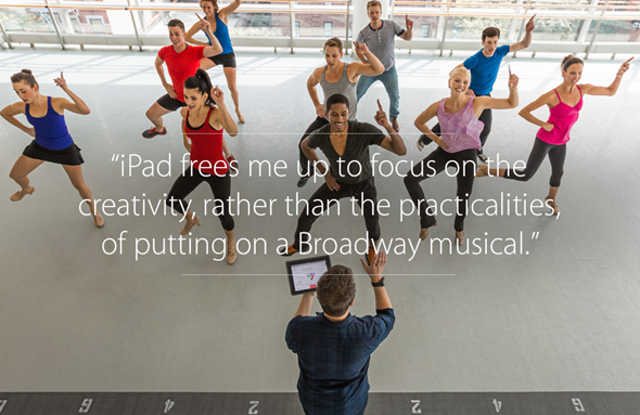 iPad life dance