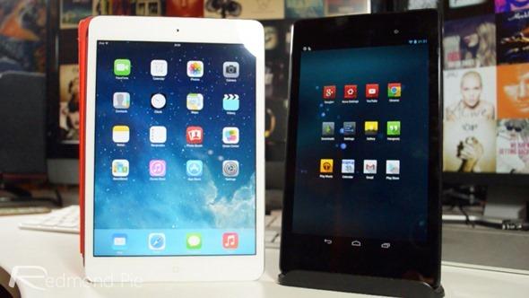 iPad mini 2 vs Nexus 7 2