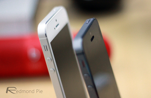 iPhone 5s side shot