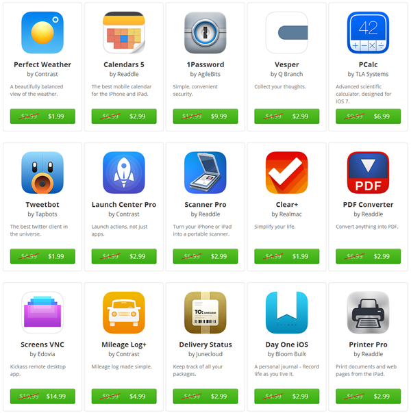 Apps on sale AS