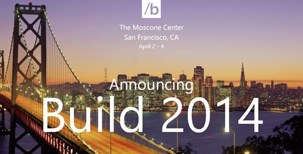 BUILD 2014