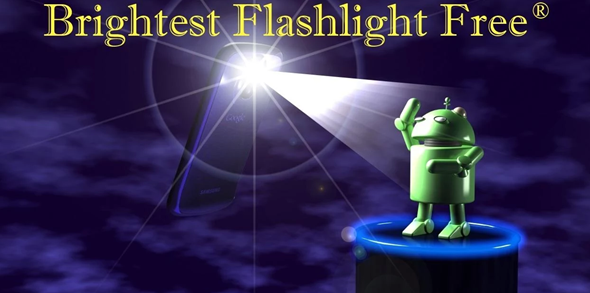 Brightest Flashlight plash