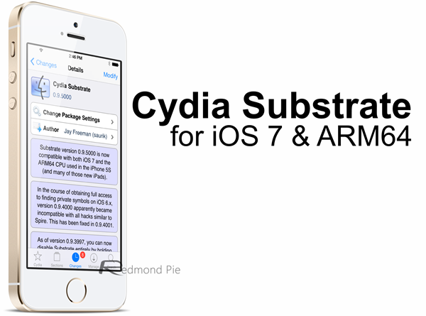 Cydia Substrate for iOS 7
