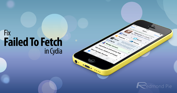 Fix failed to fetch Cydia