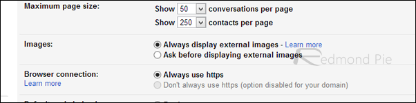 Gmail images