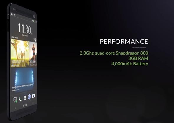 HTC One 2 concept specs
