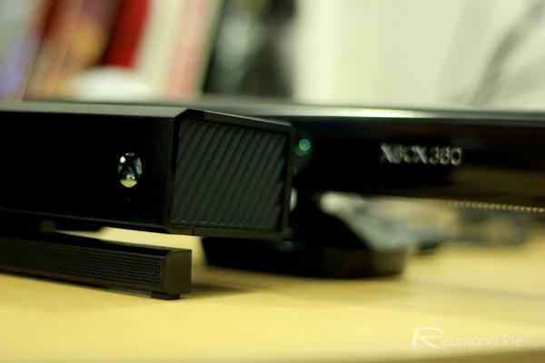 Kinect side shot