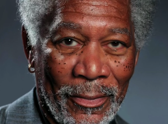 Morgan Freeman iPad Air