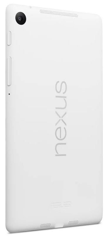 Nexus 7 white rear side