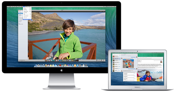 OS X Mavericks display