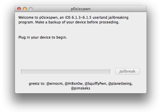 P0sixspwn for Mac OS X