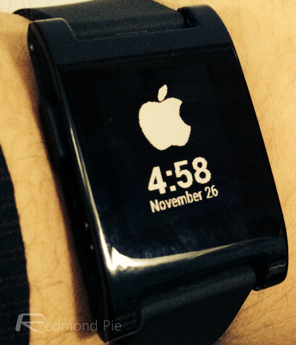 Pebble Apple watch face