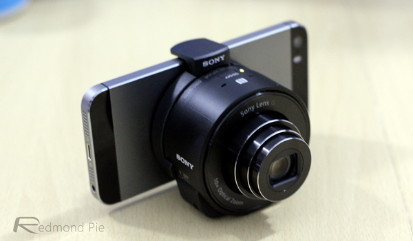 Sony QX10 iPhone 5s
