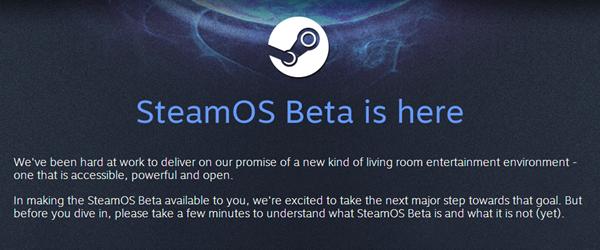 SteamOS beta