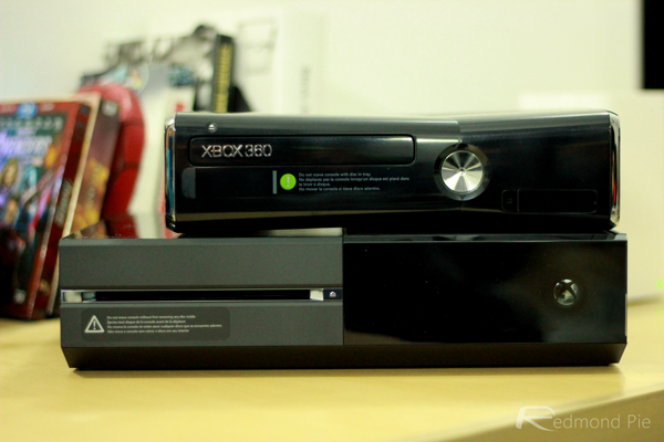 Xbox One 360 stack