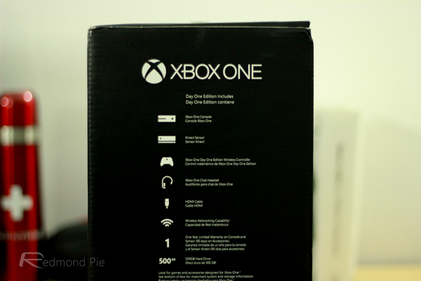 Xbox One box contents
