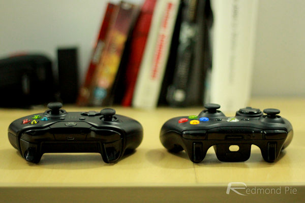 Xbox controller back