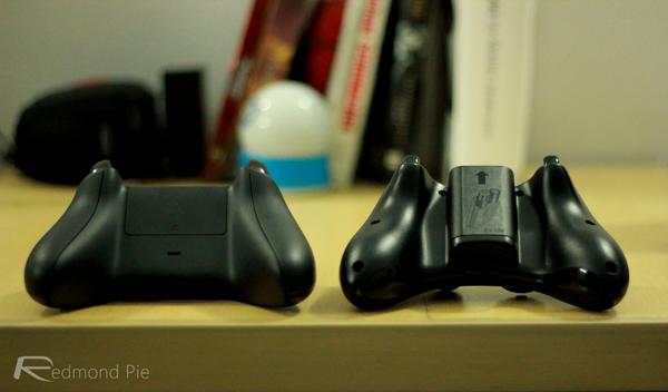Xbox controller bottom
