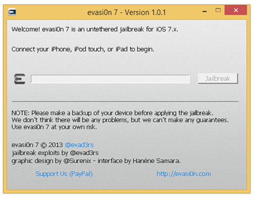 evasi0n7 1.0.1
