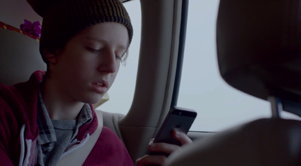 iPhone 5s holiday ad