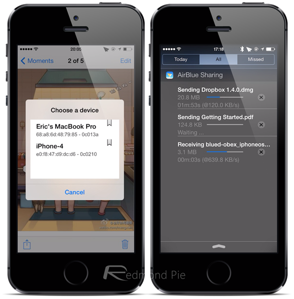 AirBlue Sharing for iOS 7 (2)