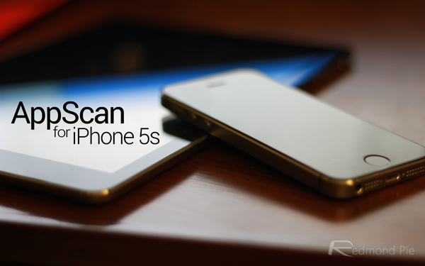 AppScan iPhone 5s