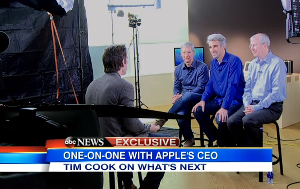 Apple ABC interview