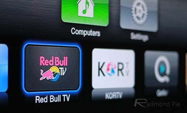 Apple TV Red Bull channel header