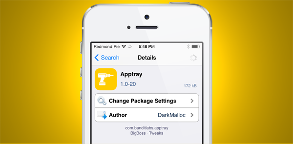 Apptray package