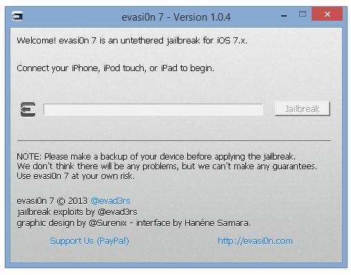 Evasi0n 1.0.4