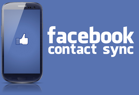 Facebook contact sync splash