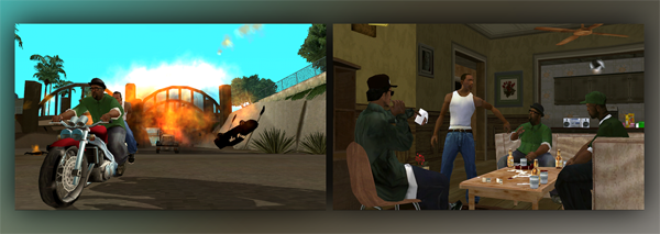 GTA SA Screenshots WP