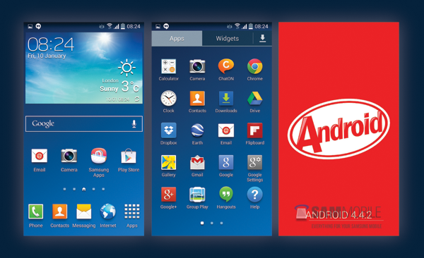 Android 4 4 2 KitKat Download For Galaxy S4 (GT-I9505