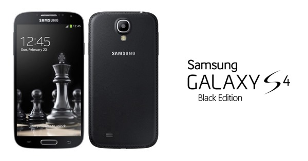 Galaxy S4 black edition leather
