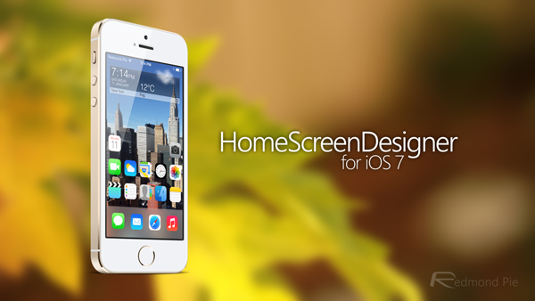 HomeScreenDesigner splash